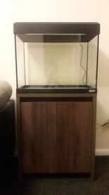 BRAND NEW CABINET ONLY Fluval 90 Aquarium in Walnut. ASSEMBLED