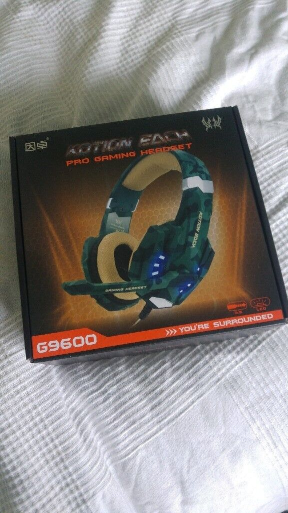 Kotion Each G9600 Gaming Headset In Hartcliffe Bristol Gumtree