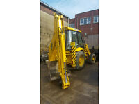 JCB 3CX/4 Sitemaster Excavator with one Bucket Year 2001