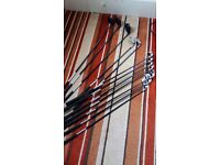 Regal Quantum Golf Clubs large set. Been used but plenty of life left in them