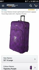 Suitcase 32 inch tall