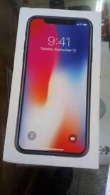Brand new iPhone X 64gb space gray Ee 600 only