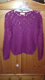 New Look Jumper - Red Size 10