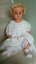 Vintage horseman doll