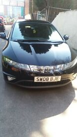 Quick sale was 4300 now 3700 Honda civic 2008 1.8 petrol 66000 on clock