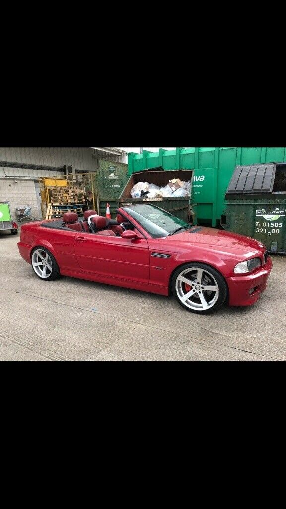 Bmw E46 M3 Convertible 2003 Manual May Px In Chryston Glasgow Gumtree