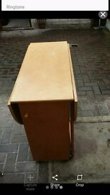 Leaf drop table/ folding table for 4