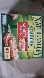Bulk purchase for Xmas - Nature Valley 40-pack (2-bars per pack)