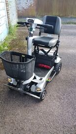 Quingo flyte motability scooter 2014 model with optional docking station