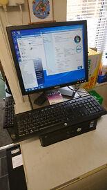 DELL OPTIPLEX 780 DUAL CORE CPU WINDOWS 7 PC