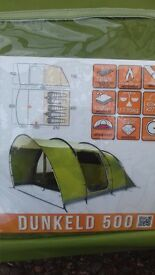 Vango Dunkeld 5 man tent (never used and in box)