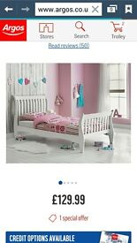 Girls Single Sleigh Bed