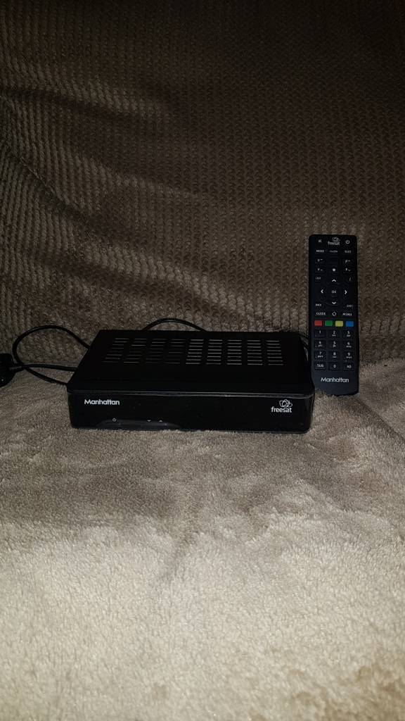 Freesat freeview satellite box