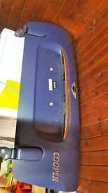 BMW Mini Convertible boot lid