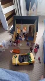 Playmobil Church and accessories massive wedding bundle