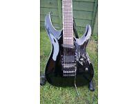 ESP Ltd MH-237 Guitar upgraded with EMG pickups (Ibanez, Schecter, Jackson)
