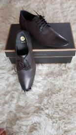 Men's shoes 'H by Hudson Ritchie Calf Brown'