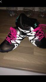 Adidas x 15.1 football boots size 7
