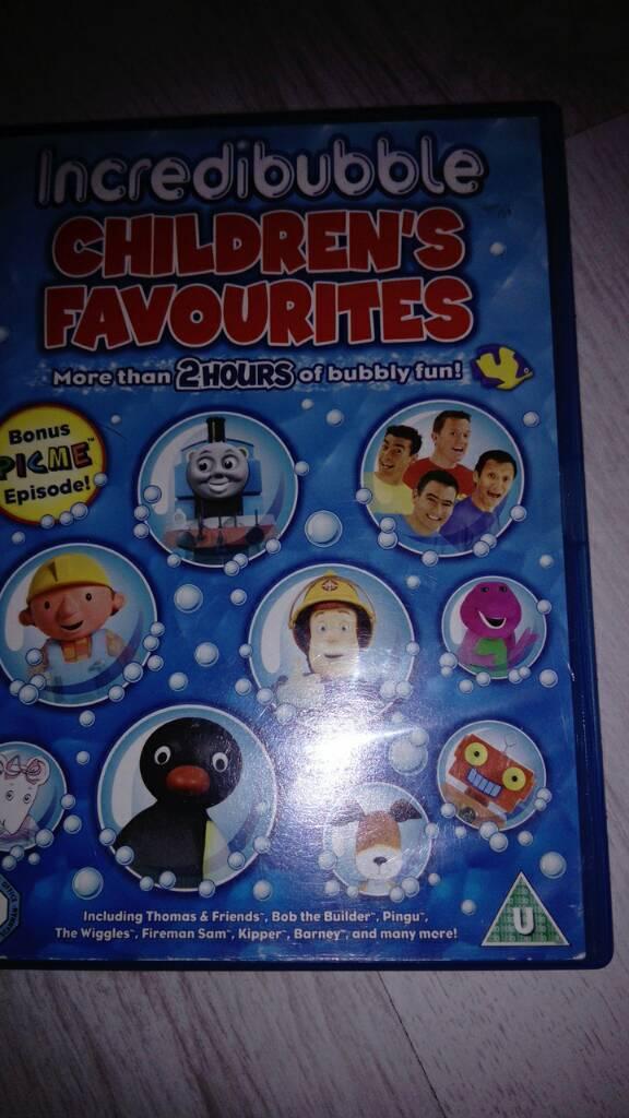 Dvd Incredibubble Children S Favourite In Plymouth