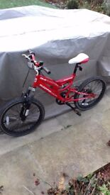 Muddy fox mountain bike age 6-10 years used, good condition and well maintained