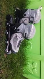 Girls rollerblades adjustable size 12 - 2