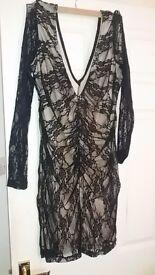 Low cut lace dress