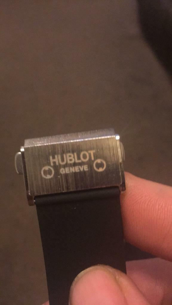 Hublot watches black or silver