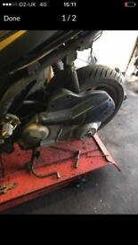 Beverly 125 engine