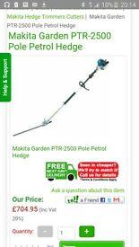 pro makita long reach hedge cutter