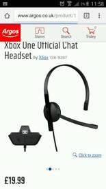 Xbox one headset genuine