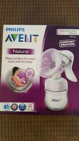 Avent breast pump. Brand new