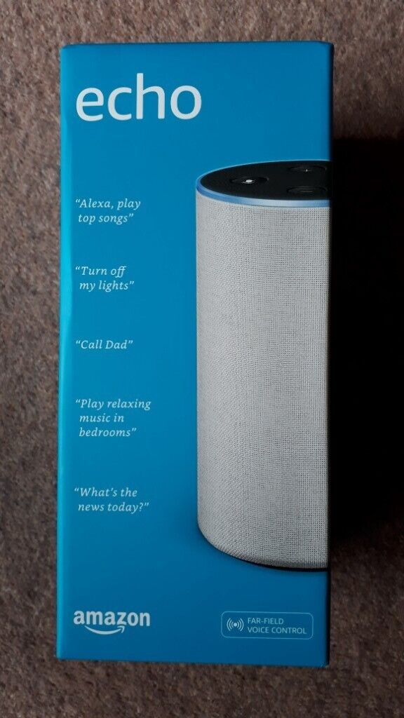 Amazon Echo second generation for sale | in Melton Mowbray, Leicestershire  | Gumtree