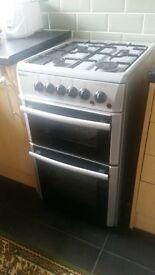BEKO grey/silver cooker