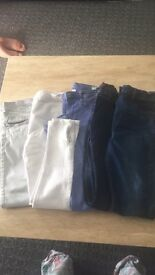 Kids clothing 10-11 years and size 3.5-4 trainers