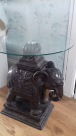 Stunning Elephant side table