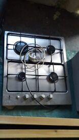 Zanussi 4 ring gas cooker in good condition