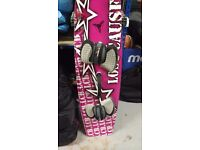 Kitesurf board - custom lost cause board 151cm