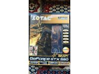 Zotac Nvidea GTX 580 Amp Edition 1.5 GB