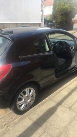 Vauxhall Corsa black 1.2 Petrol