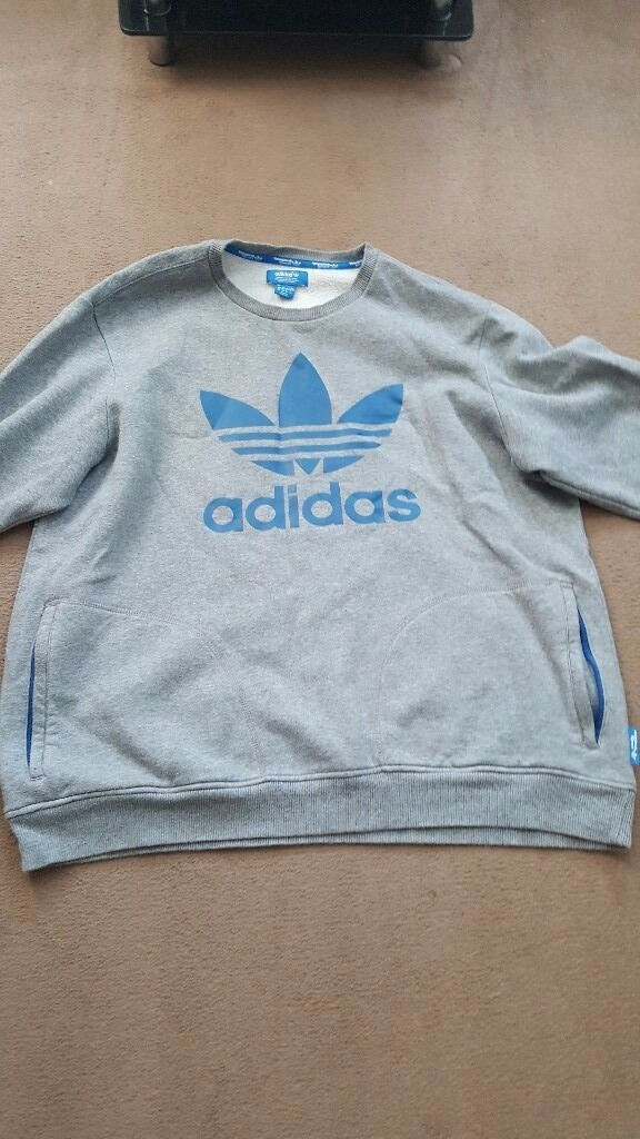 2 addidas mens jumpers