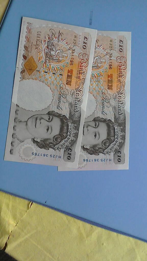 Collectors items. Paper Money