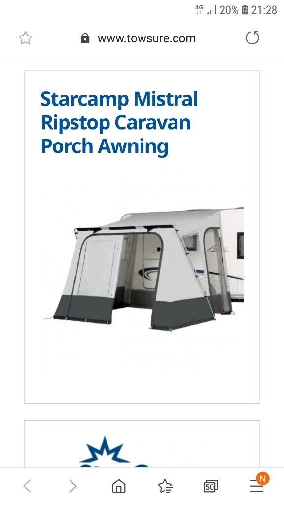 Starcamp porch awning | in Ely, Cambridgeshire | Gumtree