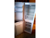 MONTPELLIER FRIDGE FREEZER MS148W 58 INCHES HIGH X 19 WIDE 1 MONTH OLD CAN BE SEEN WORKING