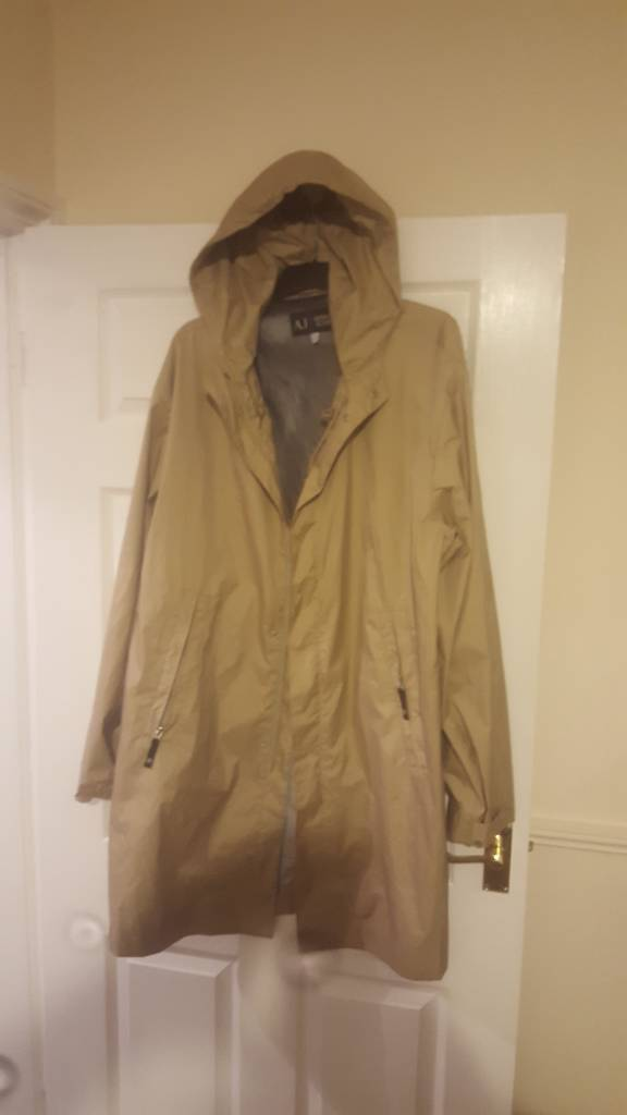 Genuine Armani Trench coat XXL