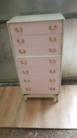 G Plan Tall Boy Chest Of Drawers