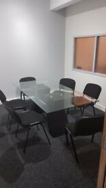 Glass Meeting room table for sale