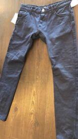 Brand new Pierre Balmain low rise jeans