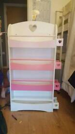 Vertbaudet girls bookcase £25