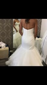Wedding dress brand new unaltered designer-Enzoani Ivan