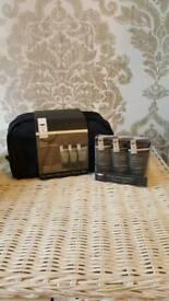 Mens Heathcote & Ivory Ultimate Grooming Travel bag & Travel mini's
